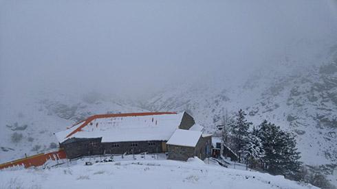 گروه کوهنوردی پرسون - پناهگاه پلنگ چال
