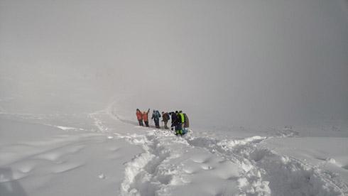 گروه کوهنوردی پرسون - گردنه پلنگ چال به ایستگاه 5 تله کابین توچال