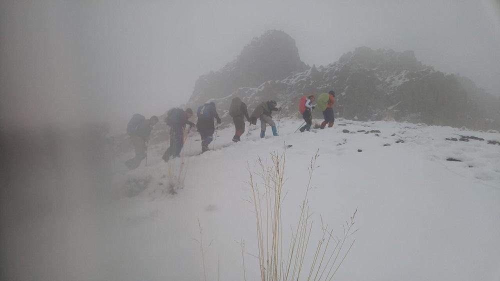 گروه کوهنوردی پرسون - درکه