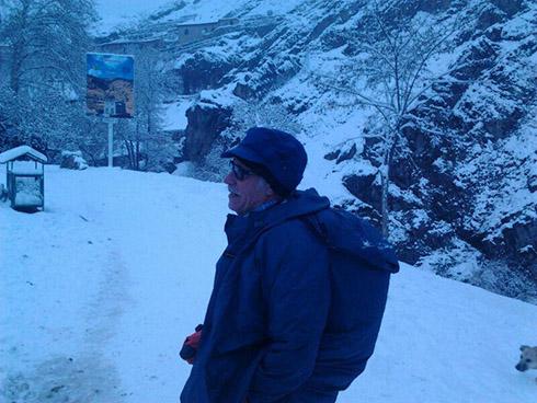 گروه کوهنوردی پرسون - درکه - استاد تاجبخش