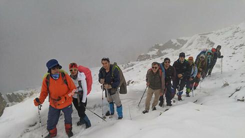 گروه کوهنوردی پرسون - دره پلنگ چال