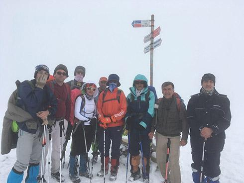 گروه کوهنوردی پرسون - گردنه پلنگ چال