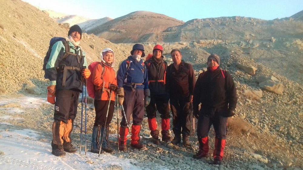 گروه کوهنوردی پرسون - دره معدن
