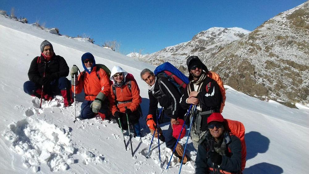 گروه کوهنوردی پرسون - گردنه کارا