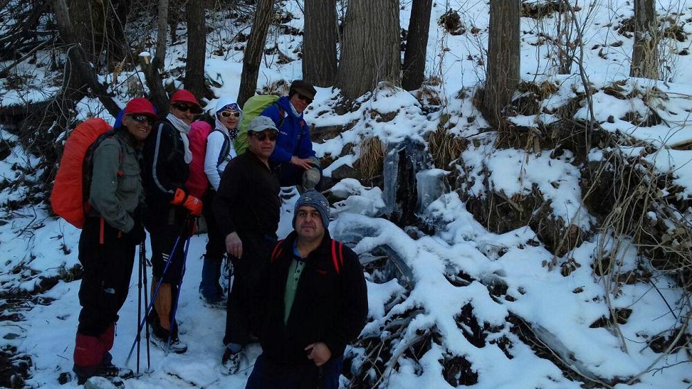 گروه کوهنوردی پرسون - دره فرحزاد