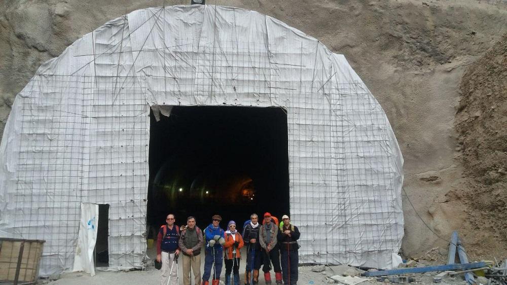گروه کوهنوردی پرسون - آبشار حقیقت - تونل تهران شمال