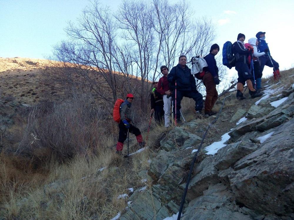 گروه کوهنوردی پرسون - ده وردیج به قله واریش
