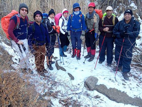گروه کوهنوردی پرسون - روستای وردیج