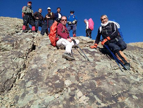 گروه کوهنوردی پرسون - مسیرده وردیج به قله ی واریش