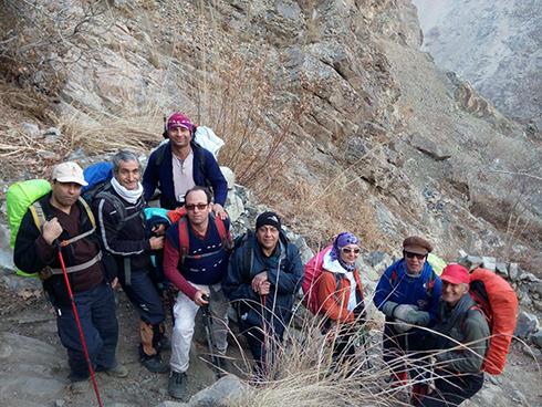 گروه کوهنوردی پرسون - آبشار حقیقت