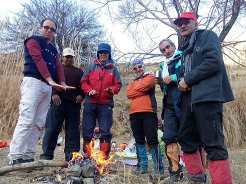 گروه کوهنوردی پرسون - دره هجده بهشت