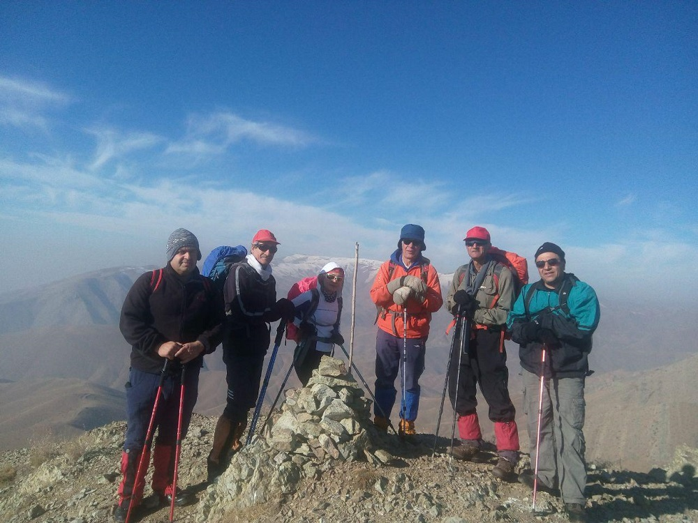 آبشارتهران  به آبشار حقیقت - گروه کوهنوردی پرسون