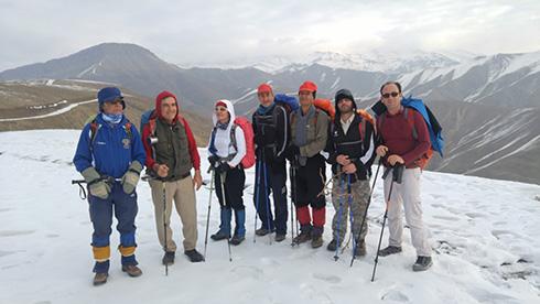 گروه کوهنوردی پرسون - چشم انداز قله بند عیش