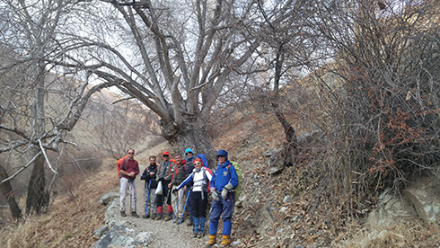 گروه کوهنوردی پرسون - زیبایی های دره حصارک