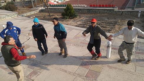 گروه کوهنوردی پرسون - واحد علوم تحقیقات دانشگاه آزاد اسلامی
