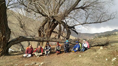 گروه کوهنوردی پرسون - دره حصارک