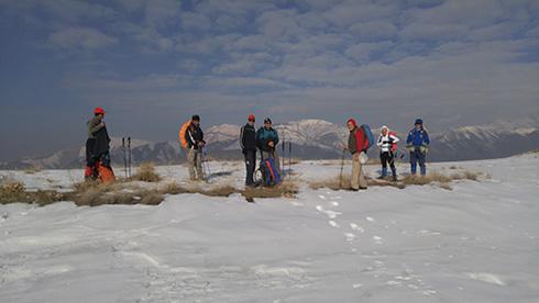 گروه کوهنوردی پرسون - چشم انداز پهنه حصار از مسیر قله بند عیش
