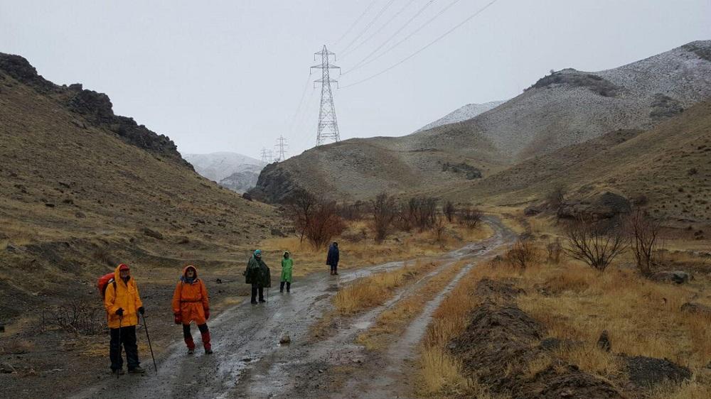 گروه کوهنوردی پرسون - ارتفاعات ده ترکمن ، سرخه حصار