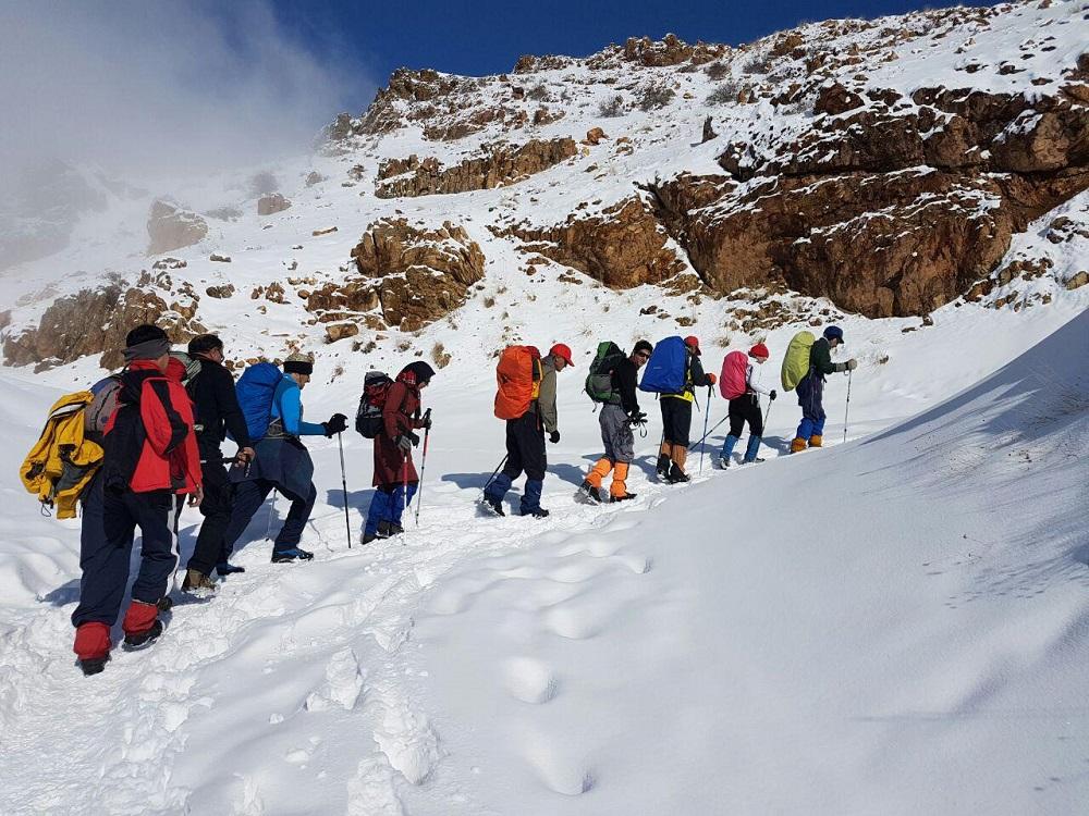 گروه کوهنوردی پرسون - برنامه قله کماچال