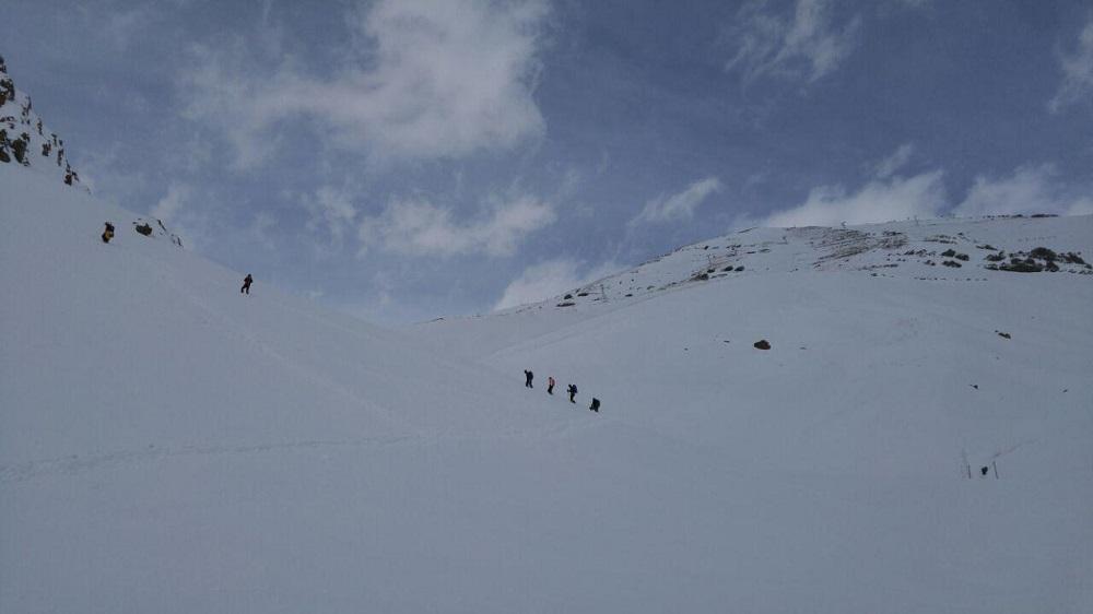 گروه کوهنوردی پرسون - برنامه دربند ، اوسون ، ایستگاه 5