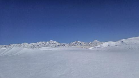 چشم انداز قله دارآباد