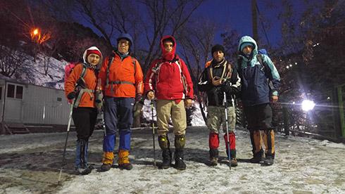 گروه کوهنوردی پرسون - استارت صعود به قله دارآباد
