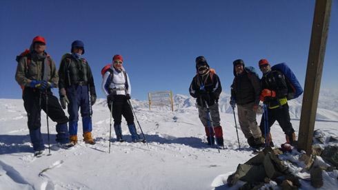 گروه کوهنوردی پرسون - ارتفاع سه هزارمتری خط الراس دارآباد