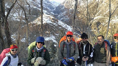 گروه کوهنوردی پرسون - بازگشت از قله