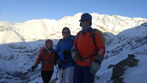 گروه کوهنوردی پرسون - صعود به قله دارآباد
