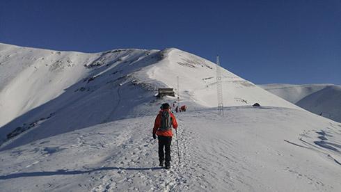 خط الراس دارآباد - پیش به سوی قله