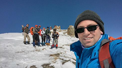 سلفی گروه کوهنوردی پرسون - دارآباد