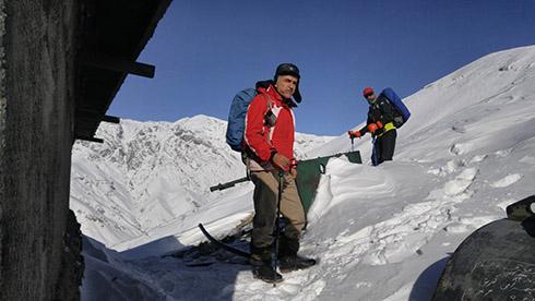 گروه کوهنوردی پرسون - دارآباد - آقای کشانی عزیز