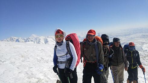 گروه کوهنوردی پرسون - خط الراس دارآباد
