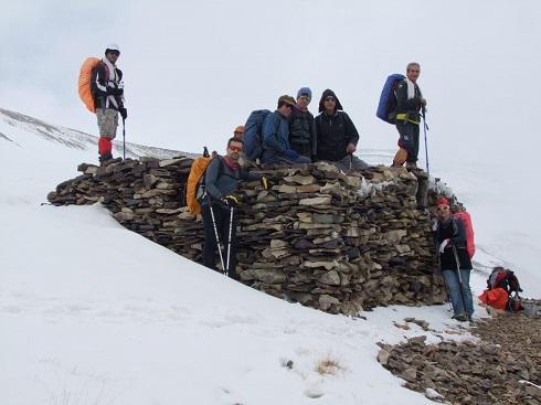 گروه کوهنوردی پرسون - برنامه دربند توچال