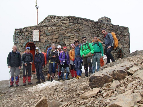 گروه کوهنوردی پرسون - برنامه دربند توچال - پناهگاه امیری
