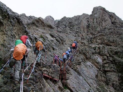 گروه کوهنوردی پرسون - برنامه دربند توچال - مسیر شیرپلا