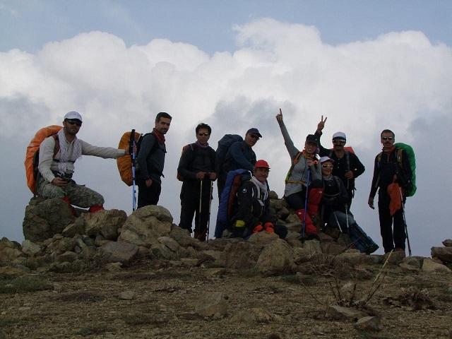 گروه کوهنوردی پرسون -  قله کماچال