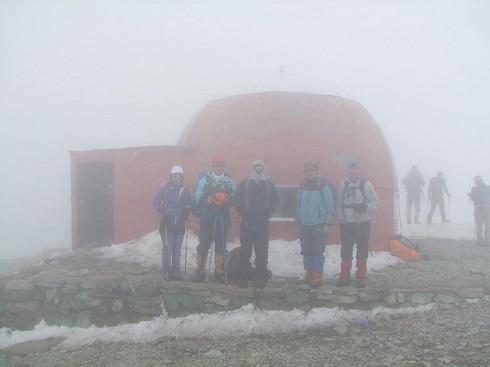 گروه کوهنوردی پرسون - قله توچال
